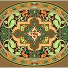 Victorian Ornamental Cushion Needlepoint Canvas (ar9-vc-24c)