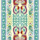 Celtic Peacocks Rug Needlepoint Canvas (cb-celtic-02-rug)