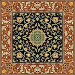 William Morris Hammersmith Carpet Rug Needlepoint Canvas