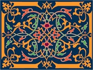 Victorian Needlepoint Cushion Canvas (ar09-vc-01c)