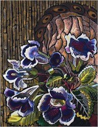Gloxinias Needlepoint Canvas (ig-05)