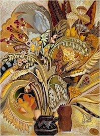 Autumn Bouquet Needlepoint Canvas (ig-02)