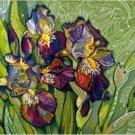 Iris Web Needlepoint Canvas (ig-01)