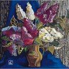 Lilac Needlepoint Canvas (ig-06)