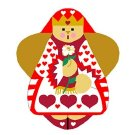 Needlepoint Canvas Queen of Hearts Angel by In Good Company (LAS010)
