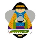 Needlepoint Canvas Ginseng Angel by In Good Company (LAS047)