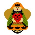 Needlepoint Canvas Holloween Angel by In Good Company (LAS056)
