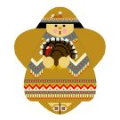 Needlepoint Canvas Thanksgiving Angel by In Good Company (LAS057)