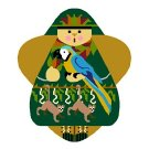 Needlepoint Canvas Jungle Angel by In Good Company (LAS065)