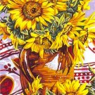 Needlepoint Canvas by Margot Sunflowers Pot Le pot de tournesols (margot-153-1335)