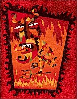 Needlepoint Canvas El Diablo ('Devil') (vg-001-r)