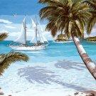 Needlepoint Canvas Tropiques (margot-163-4305)