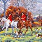 Needlepoint Canvas by Margot Jour de chasse (margot-173-3104)