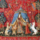 Needlepoint Canvas by Margot Dame a la licorne A mon seul desir (margot-253-2911)