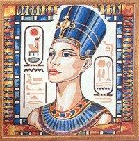 Needlepoint Canvas by SEG de Paris Nefertiti (seg-1904-32)