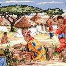Needlepoint Canvas by SEG Coleurs d'Afrique (seg-932-103)