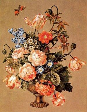 Needlepoint Canvas by SEG Bouquet XVIII (seg-940-03)