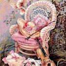 Needlepoint Canvas by SEG Le jardin de musique (seg-981-116)