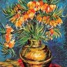 Needlepoint Canvas by SEG Les Fritillaries d'apres Van Gogh (seg-981-108)
