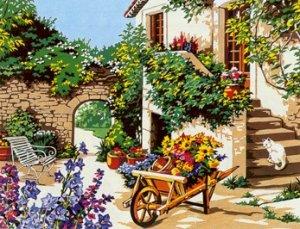 Needlepoint Canvas by SEG Lumiere d'ete (seg-981-143)