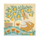 Needlepoint Canvas Mrs. Gingham by Janet Watson