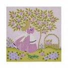Needlepoint Canvas Mrs. Greenbean by Janet Watson