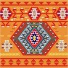 Needlepoint Canvas Kelim Cushion