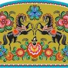 Needlepoint Canvas Russian Folk Art