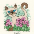 June Cat by Peter Underhill Heritage Crafts Cross stitch Kit