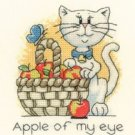 September Cat by Peter Underhill Heritage Crafts Cross stitch Kit