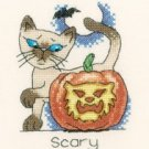 October Cat by Peter Underhill Heritage Crafts Cross stitch Kit