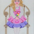 Needlepoint Canvas by Janet Watson Little Miss C  (fdp-JW-131)