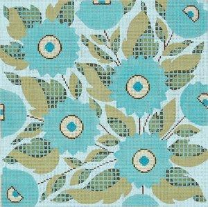 Needlepoint Canvas by Janet Watson Retro (fdp-JW-134)