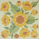 Needlepoint Canvas by Janet Watson Pineapple Bloom (fdp-JW-135)