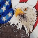 Needlepoint canvas by Sandra Gilmore American Eagle