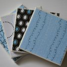Blue Polka-dot Coaster set