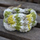 "6""-7"" Quad-Colored Cable-Knit Bracelet"