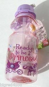 ZAK   Tritan Water Bottle Ready to Be a Princess   14 Oz BPA Free SANS BPA