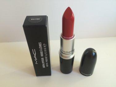 MAC Amplified Creme Lipstick - M.A.C. Red    (BNIB) Free USA Shipping