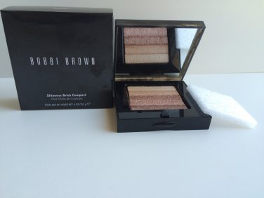 Bobbi Brown Shimmer Brick Compact - Sandstone   Free USA Shipping