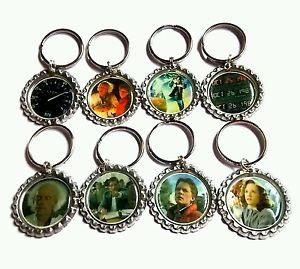 Back to the future Party Favor Key chains