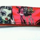 Monster High key Chain FOB - Monster High wristlet - Monster High lanyard