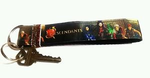 Descendants Key Chain FOB - Descendants wristlet - Descendants lanyard
