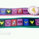 Superhero Key Chain FOB - Superhero Lanyard - Superhero Key fob - Supergirl