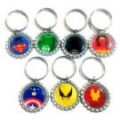 Superhero Party Favor Key chains - MANY AVAILABLE!