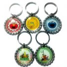 Sesame Street Party Favor Key chains - MANY AVAILABLE!