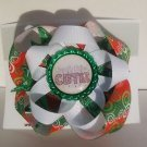 Christmas Cutie Hair Bow - Christmas Hair clip