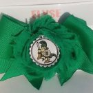 Michigan State Spartans Hair Bow