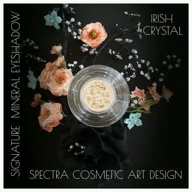 Spectra Cosmetic Art Design~Mineral Loose Eye Shadow~ IRISH CRYSTAL 3ml Jar