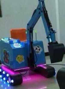 Basic Seris Recreation Children Digging Machine Game Machine